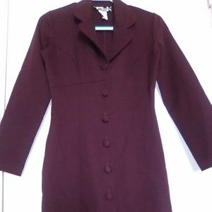 GUC POSSESSION ABOVE THE KNEE PLUM BLAZER DRESS